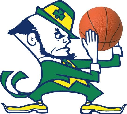 Irish hoops logo