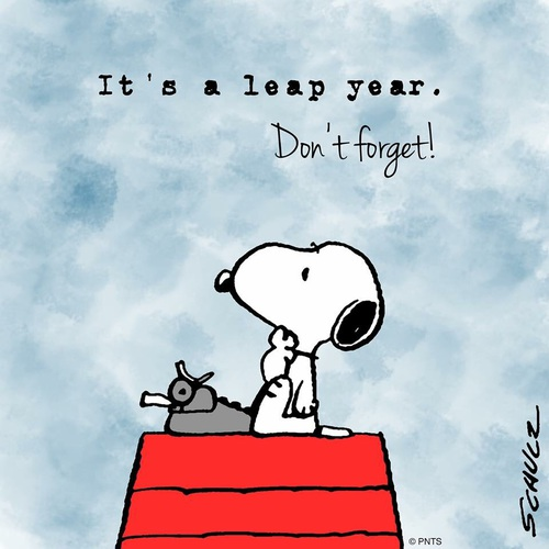 Snoopy leap year