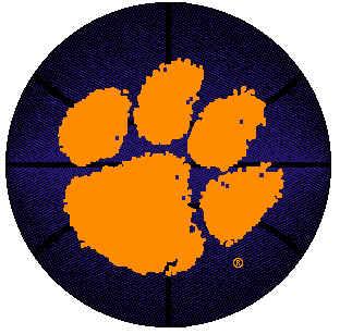 clemson bball logo