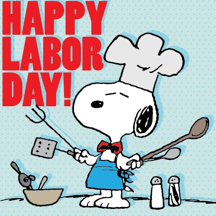 snoopy labor day 2016