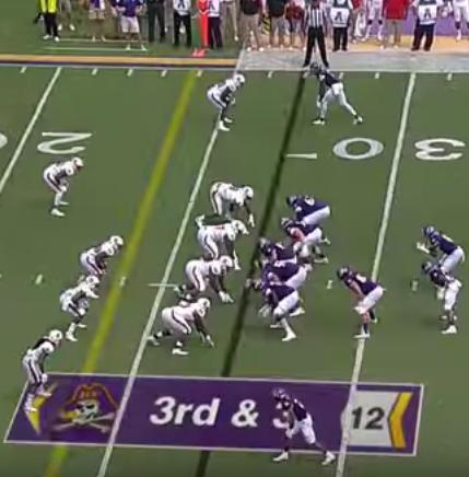 ECU's wide-side offset I.
