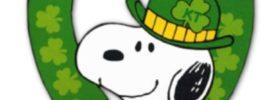 snoopy Saint Patrick