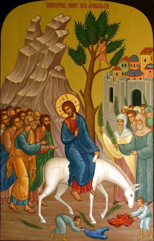 Palm Sunday Entry of TRIUMPH