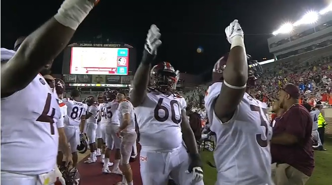 Your (full) upsetting and winning Florida State Eye in the Sky